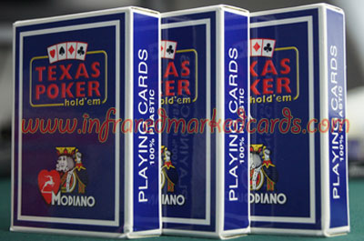 Modiano Texas Holdem Marked Cards